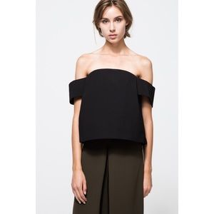 C/Meo Collective The Palisades Top Off Shoulder